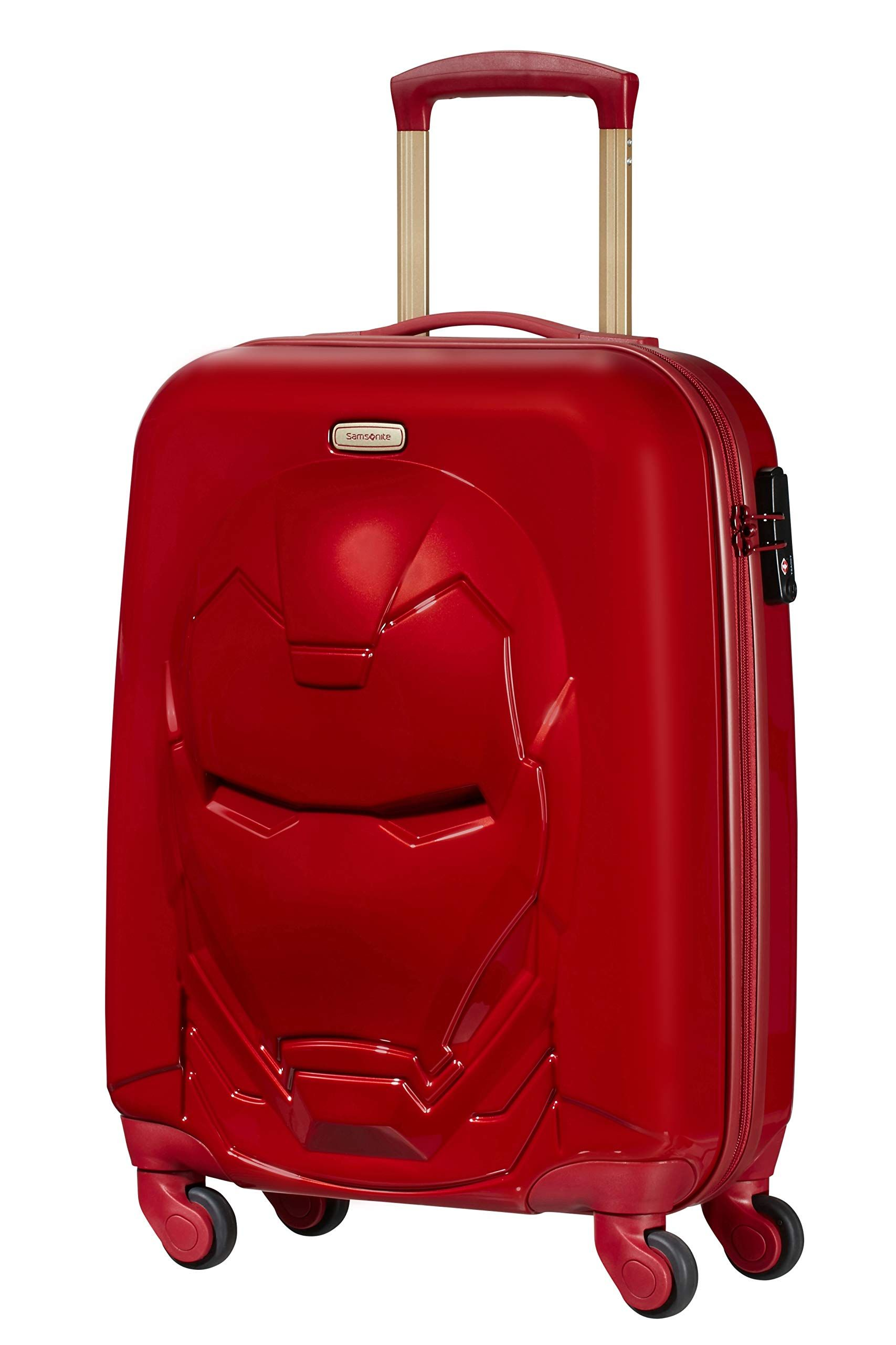 Samsonite Disney Ultimate 2 0 Hand Luggage 55 Cm 35 5 Litre Red Iron Man Red Top Luggage Uk Suitcase Samsonite Disney Suitcase