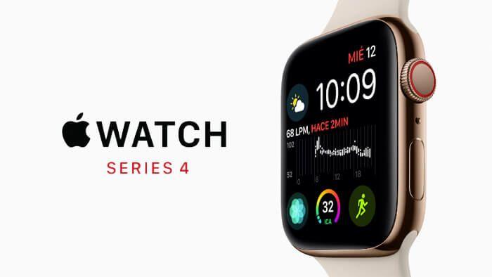 Apple presenta Apple Watch Series 4 con pantalla más