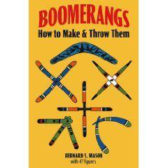 Boomerang Instruction Book