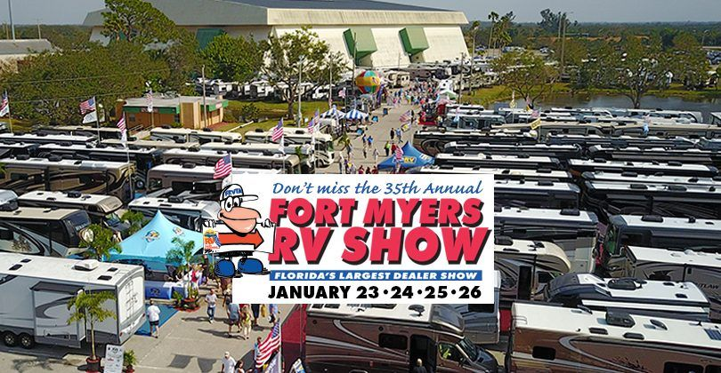 Fort Myers RV Show Celebrates 35 Years as it Motors into