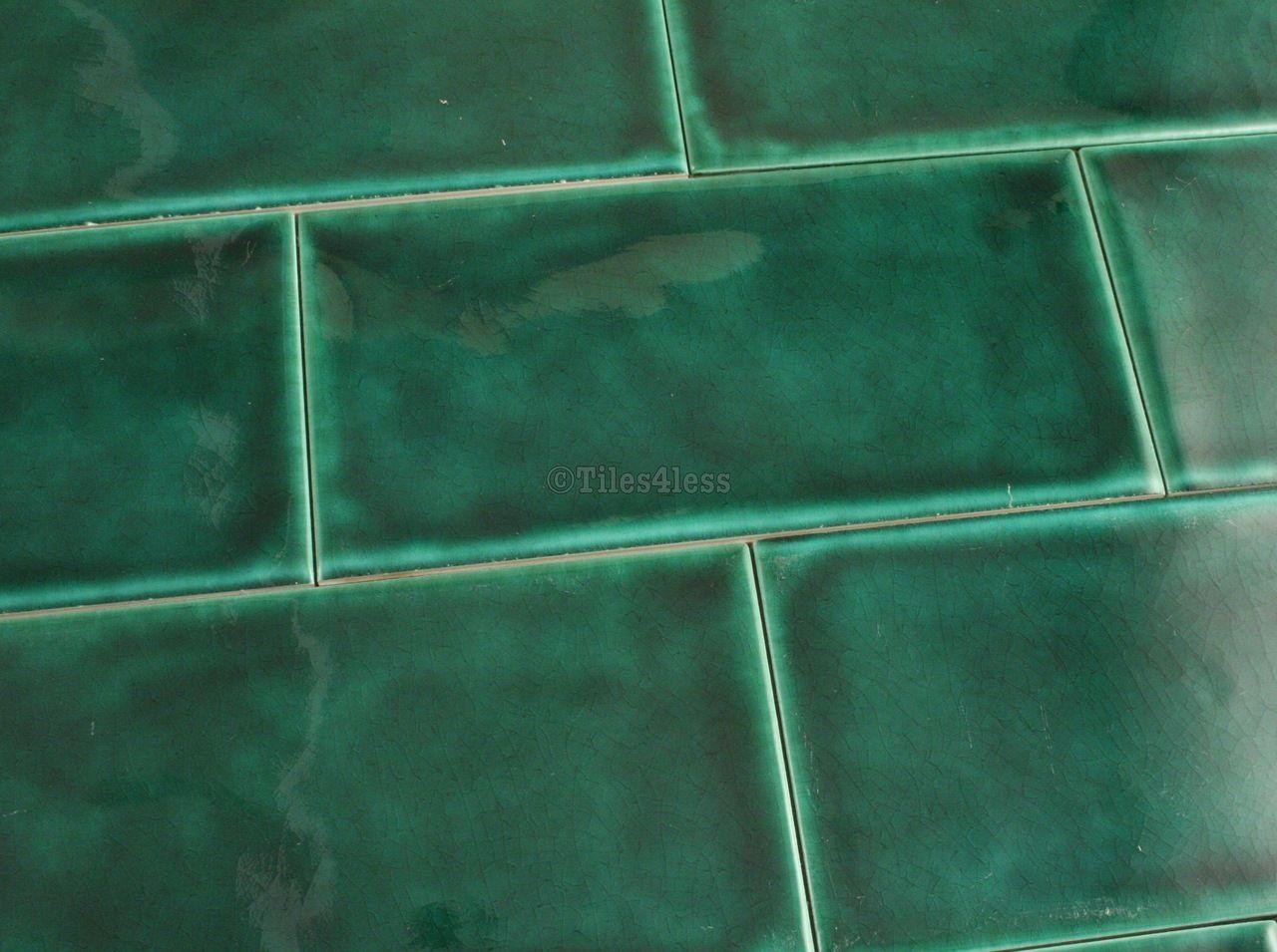 150x75mm dark green craquelle glaze subway tile sold per 097sqm buy 150x75mm dark green subway tile with craquelle glaze tiles4less dailygadgetfo Image collections