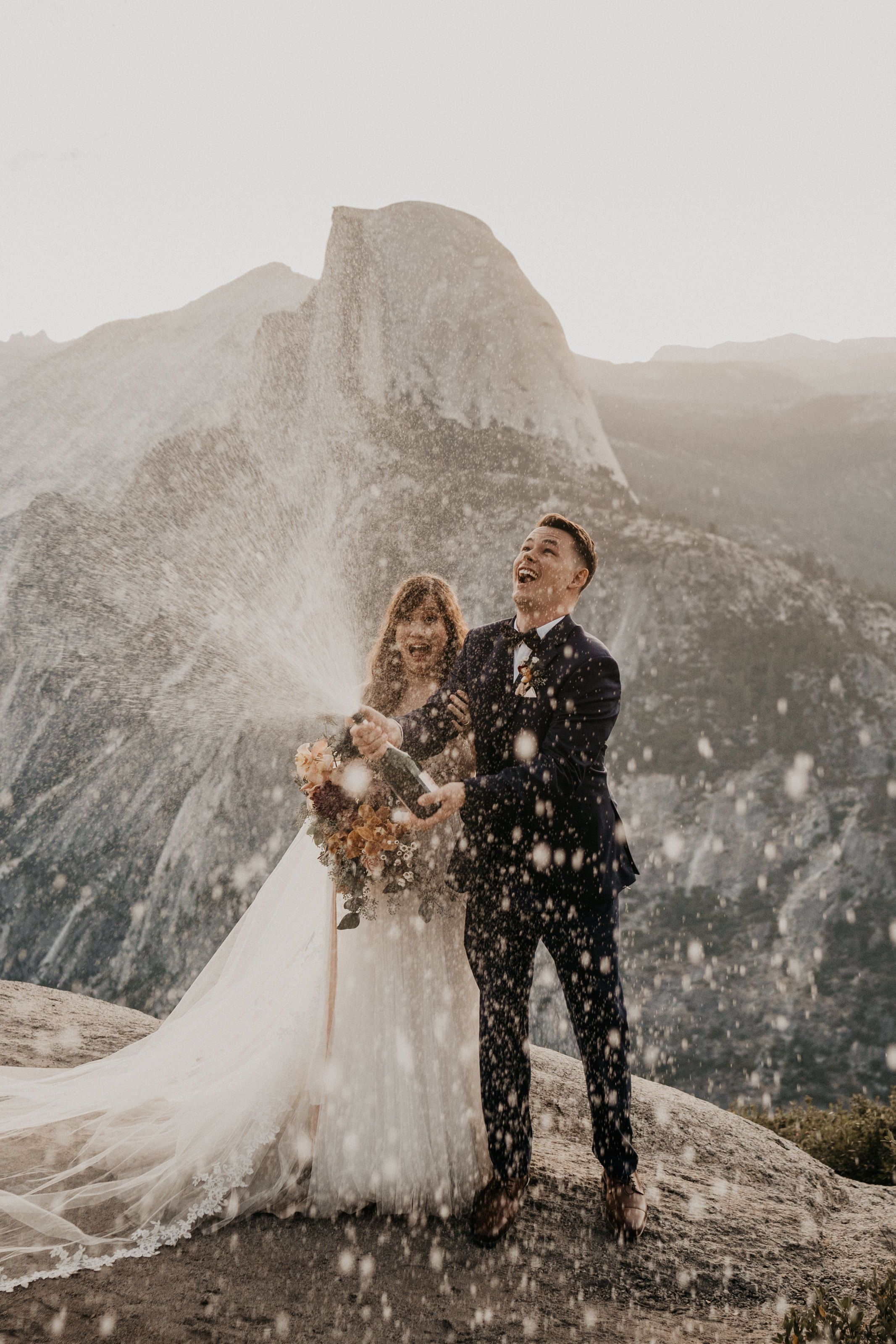 Romantic Yosemite Adventure Elopement Julie And Calvin Henry Tieu Photography In 2020 Yosemite Elopement Yosemite Wedding Elope Wedding