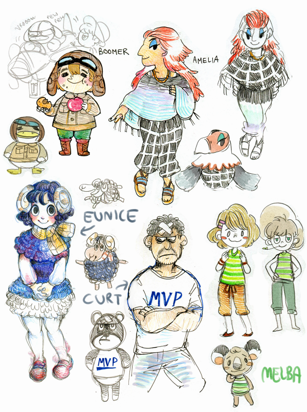 Pin By Creme Brulee On Animal Crossing Fan Art Animal Crossing Characters Animal Crossing Villagers Animal Crossing Fan Art