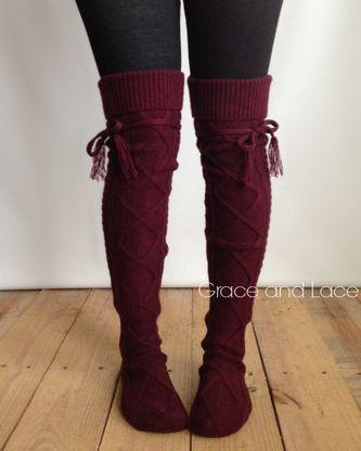(**sale**) Alpine Thigh High Boot Socks. CollantChaussettes De  DentelleChaussettes ...