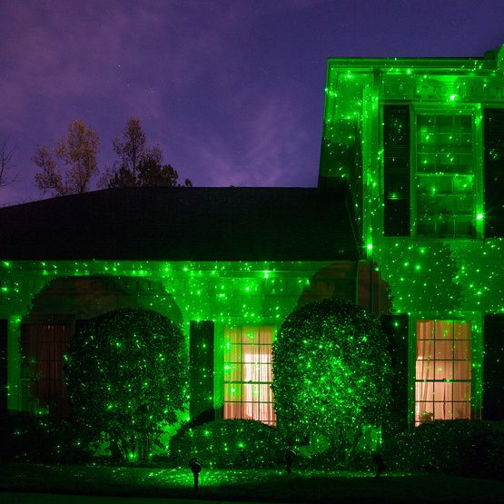Green X500 Laser Christmas Light Projector Laser