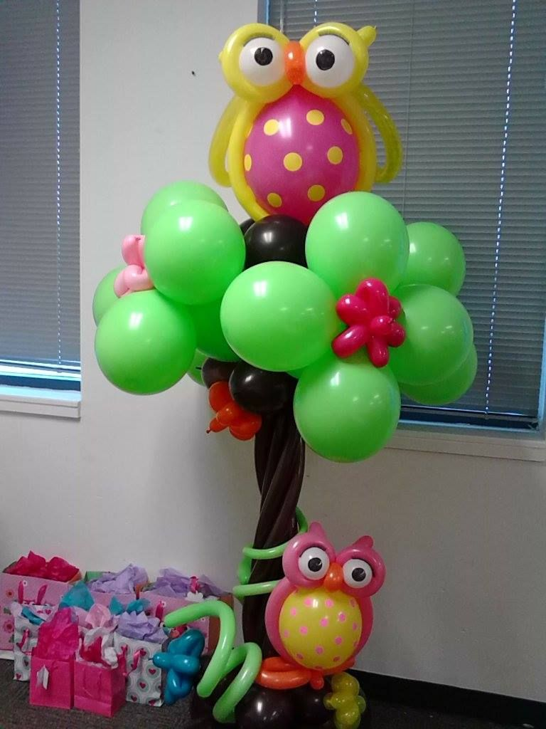 Owl Balloon Decorations Owl Balloonsi Want To Try This Balloon It Looks Pretty Simple