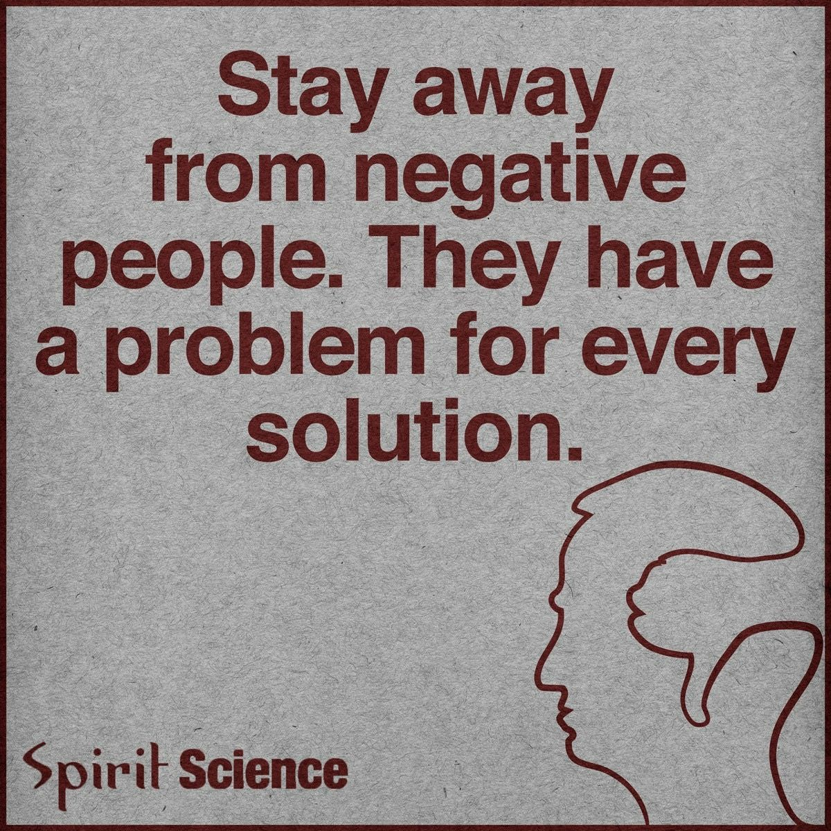 Negative People Have A Problem For Every Solution Jesus