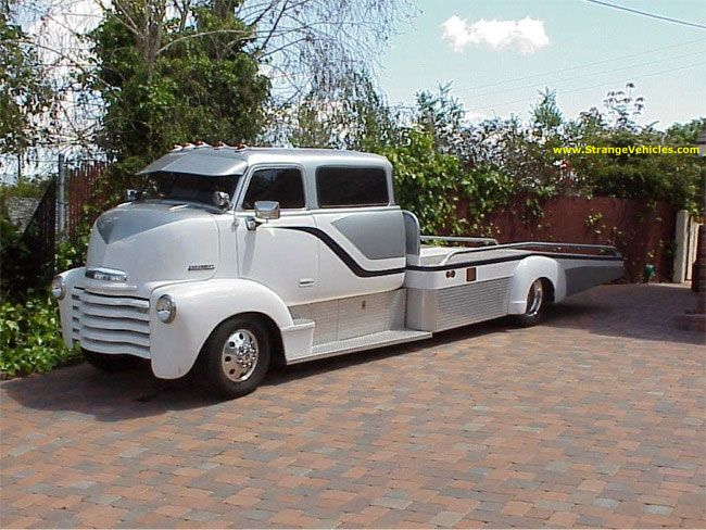 I Want To Build A Truck Similar To This Car Hauler My Dream