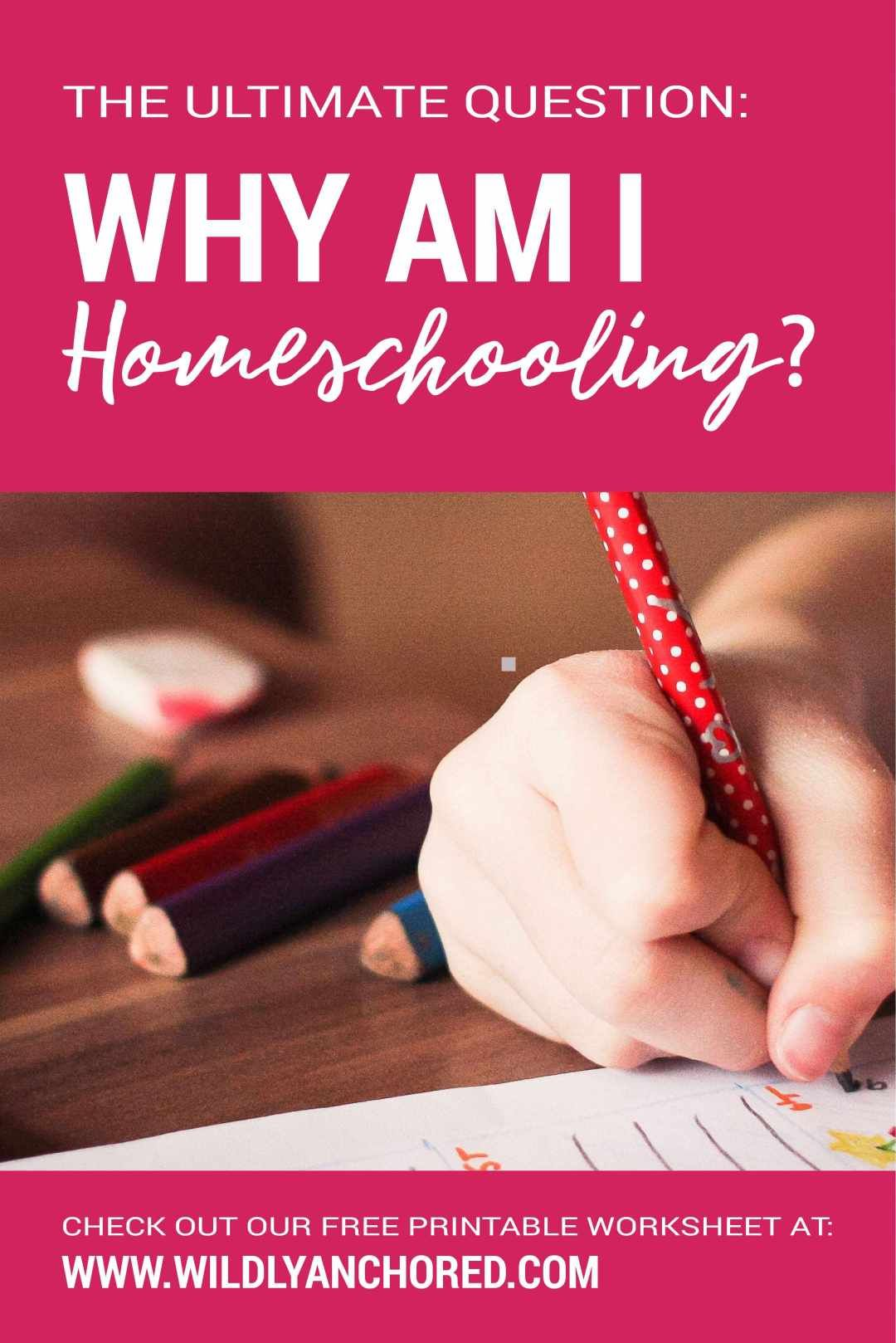 Ever Ask Yourself Why Am I Homeschooling Free