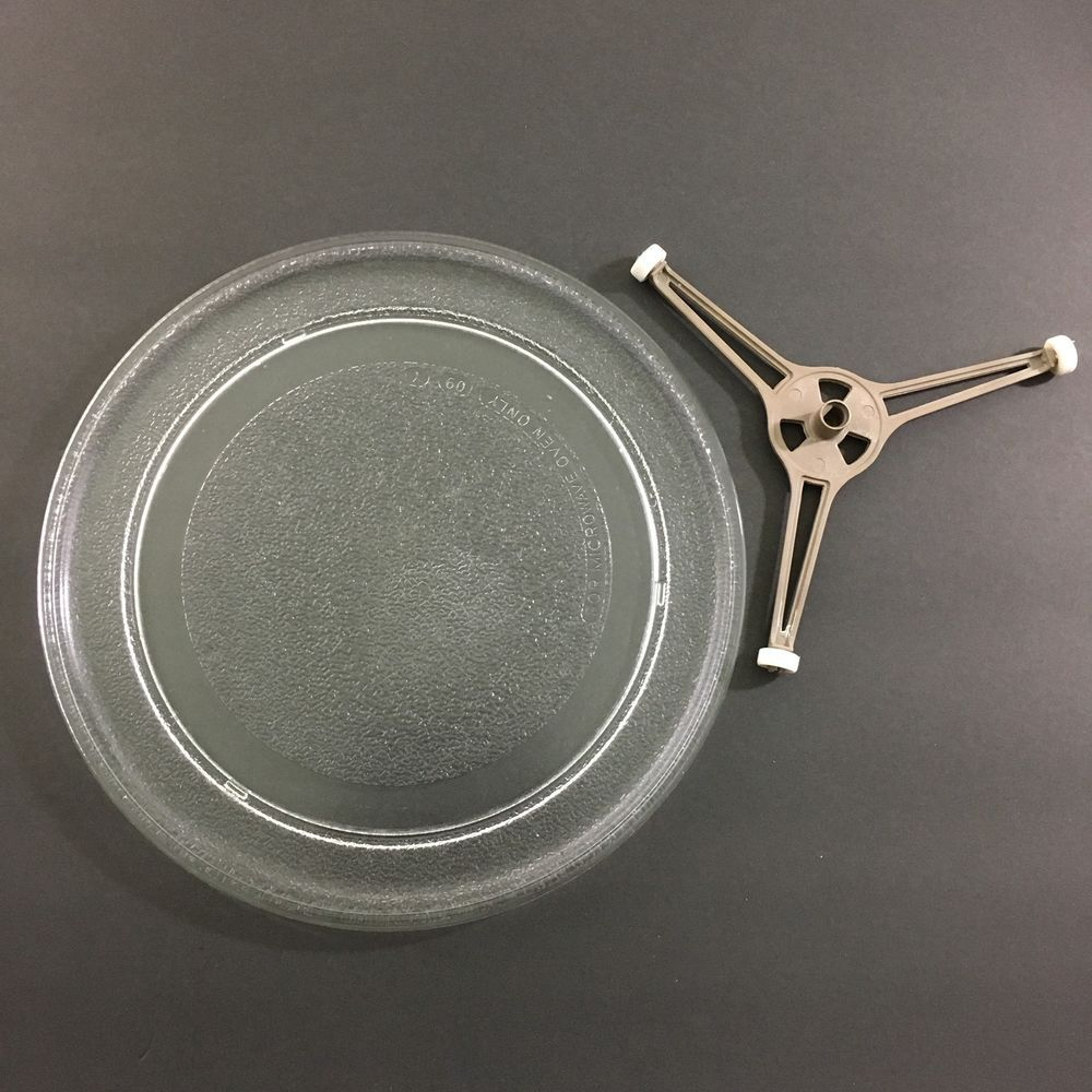 microwave glass turntable plate tray w