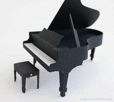 paper grand piano