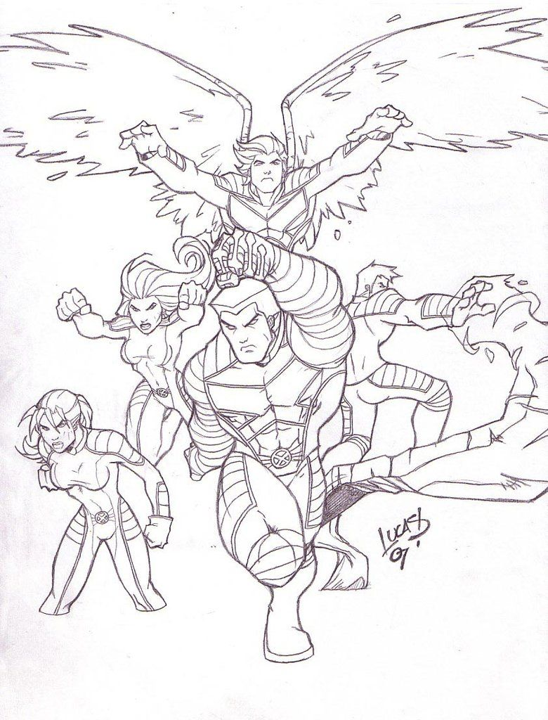X3 Jr. Squad 07 by LucasAckerman on DeviantArt   LineArt: X-men ...