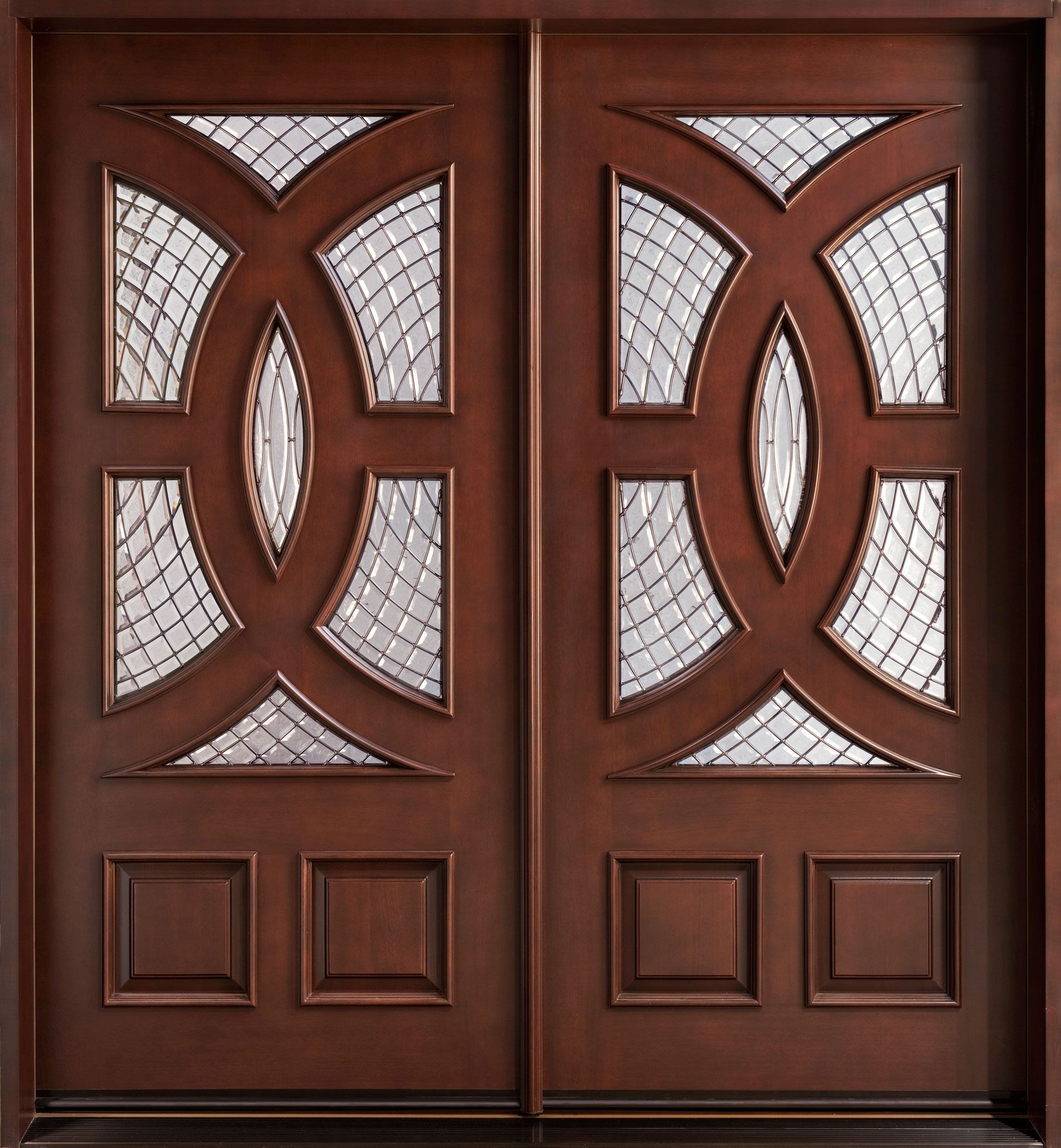 Brown mahogany wood entry panel door with frosted glass marvelous brown mahogany wood entry panel door with frosted glass marvelous design of modern entry doors rubansaba