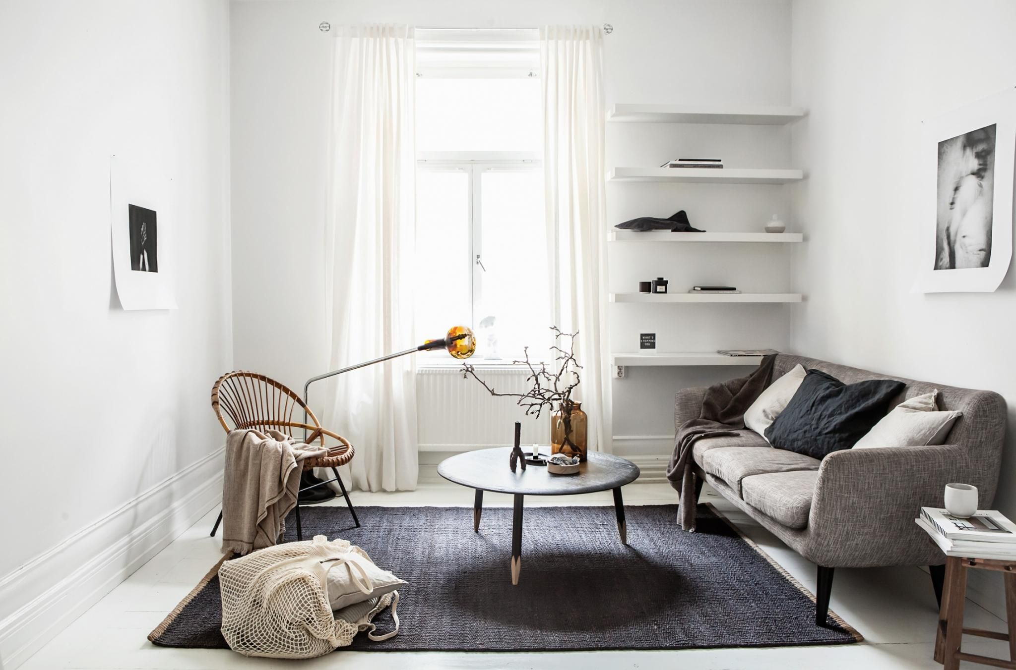 Woonkamer Klein Appartement : Zo richt je een klein appartement in van m woonkamer
