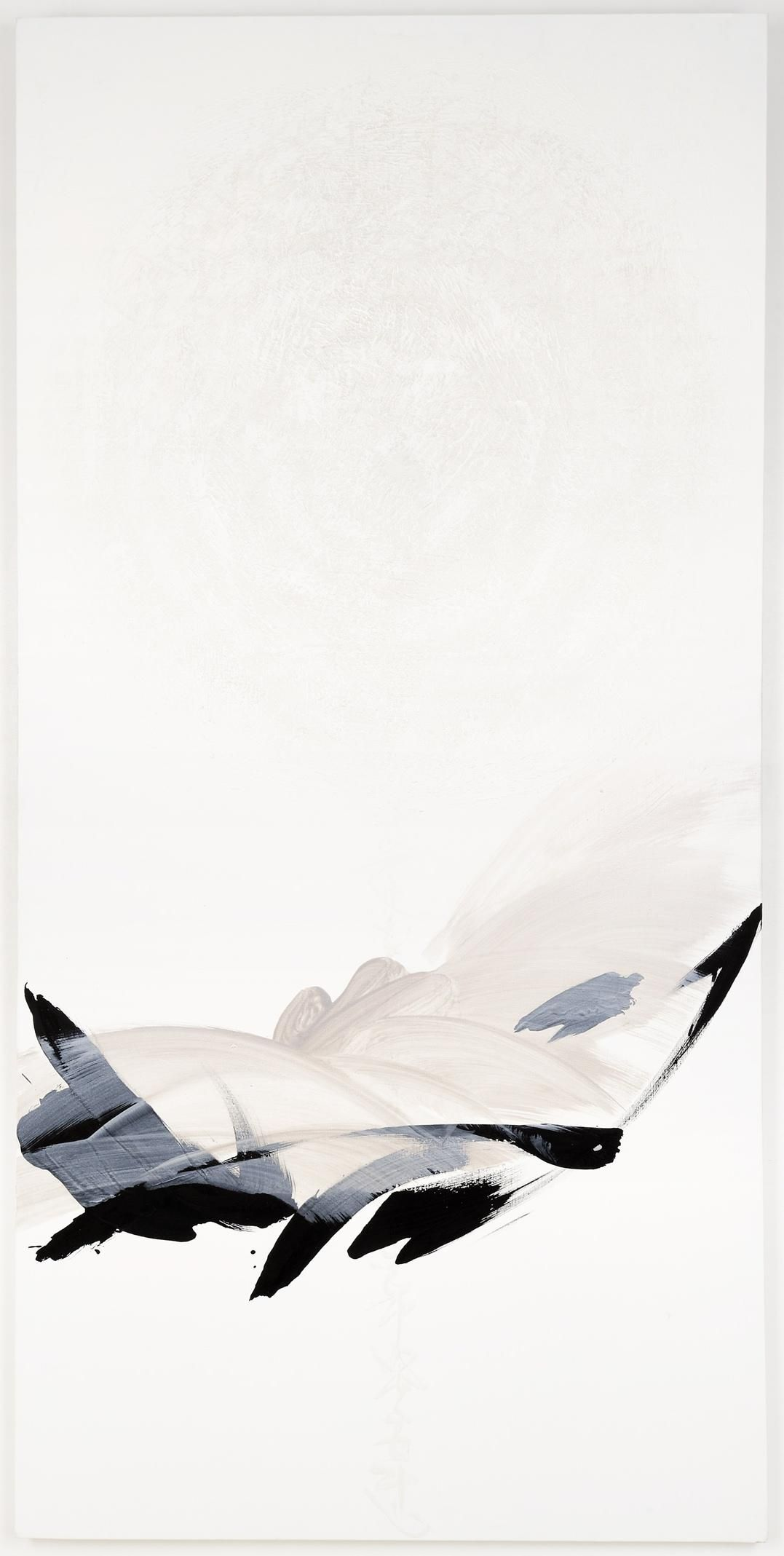 Hachiro Kanno | N 544 | Ink and acrylic on paper | http://www.artistics.com/en/art/hachiro_kanno/tn-544