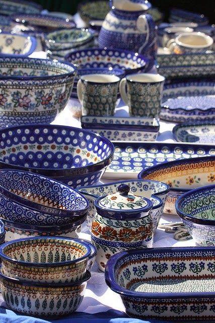 I M Back With Polish Pottery Polish Pottery Pottery Polish Stoneware