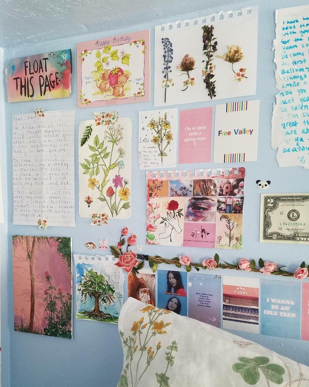 pinterest // sadwhore ♡ | Decoración de pared tumblr ... on Room Decor Paredes Aesthetic id=17802