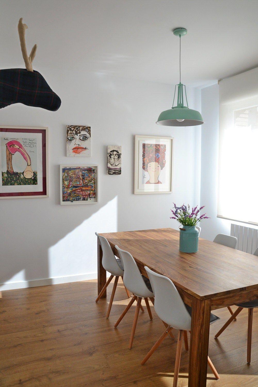 Hogares de nuestros lectores piso en zaragoza cocinas for Decoracion nordica low cost