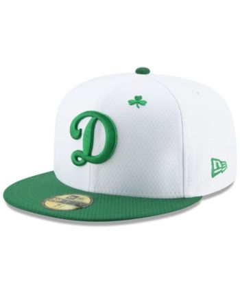 79f8d6e8d New Era Los Angeles Dodgers St. Pattys Day 59FIFTY-fitted Cap - White 8