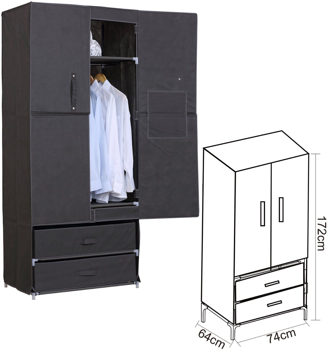 schrank mit stoff full size of schrank stoff schrank kaufen billigstoff schrank partien und. Black Bedroom Furniture Sets. Home Design Ideas