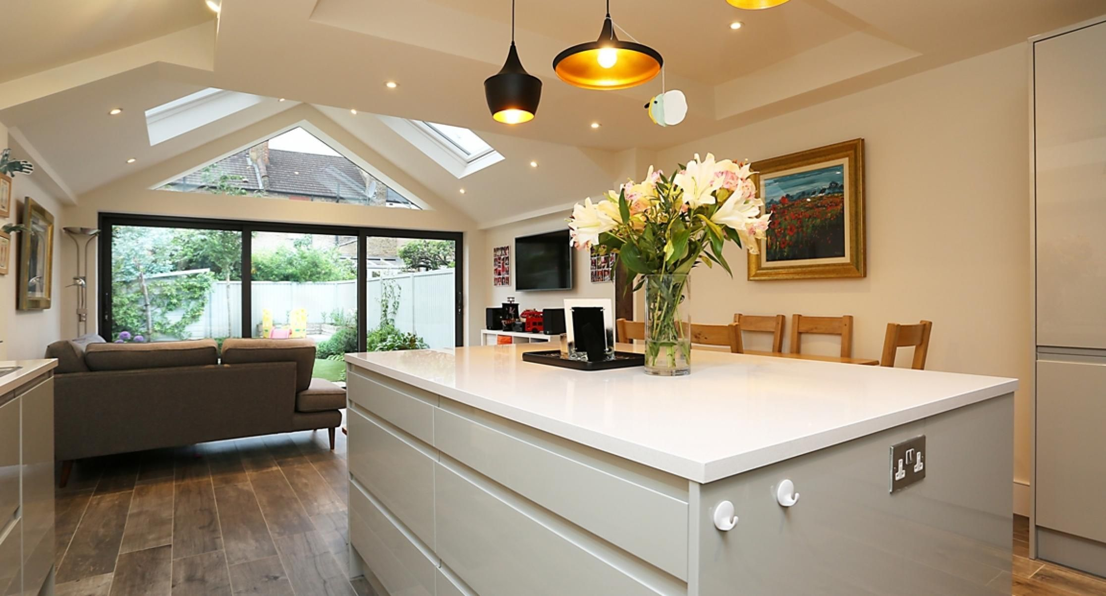 Vaulted Ceiling  Residential Extensions By The Art Of Building