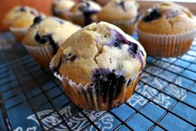 What's Baking in the Barbershop?!: Blueberry Muffins