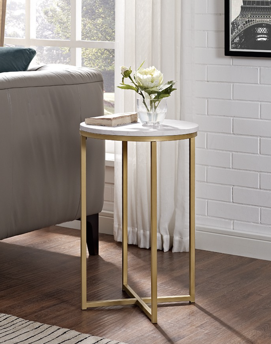 """Saracina Home 16"""" Round Side Table $55 Target   Round side ..."""