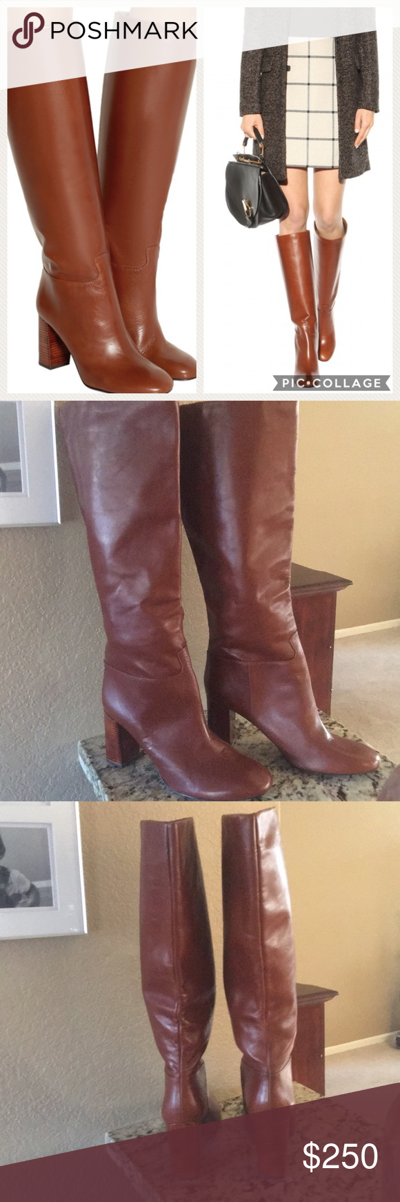 644897a35 New Tory Burch Devon knee high boots Never worn! These are so amazing 😍  they