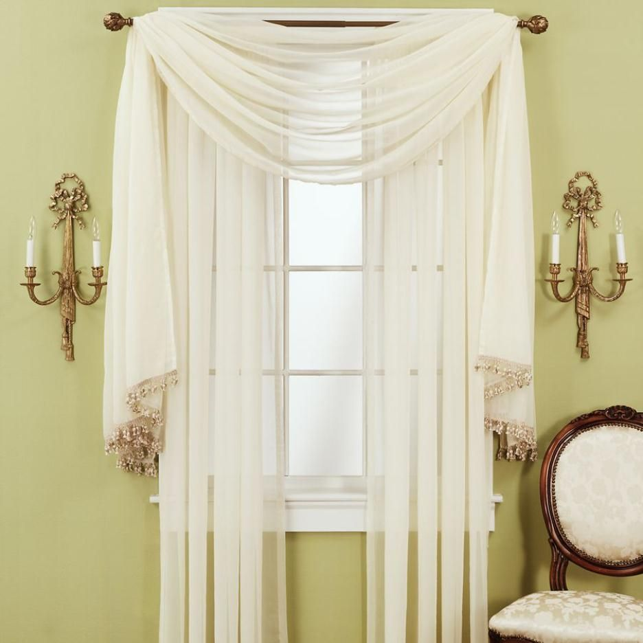 Drapes to create a grand effect but with heavier and detailed