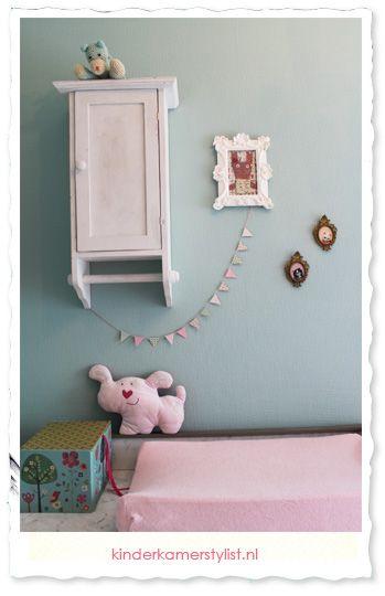 babykamer meisje / olivia | kinderkamer en babykamer tips & ideeen, Deco ideeën