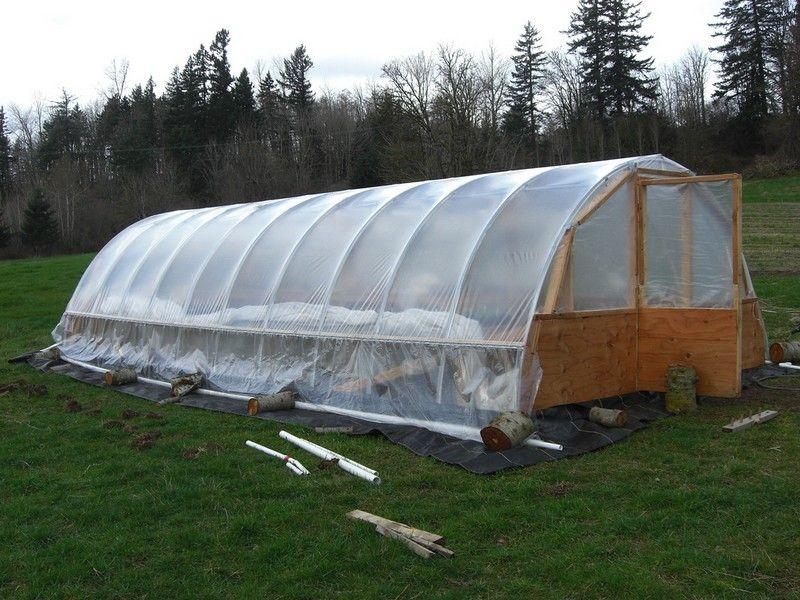Diy hoop greenhouse simple greenhouse greenhouse plans