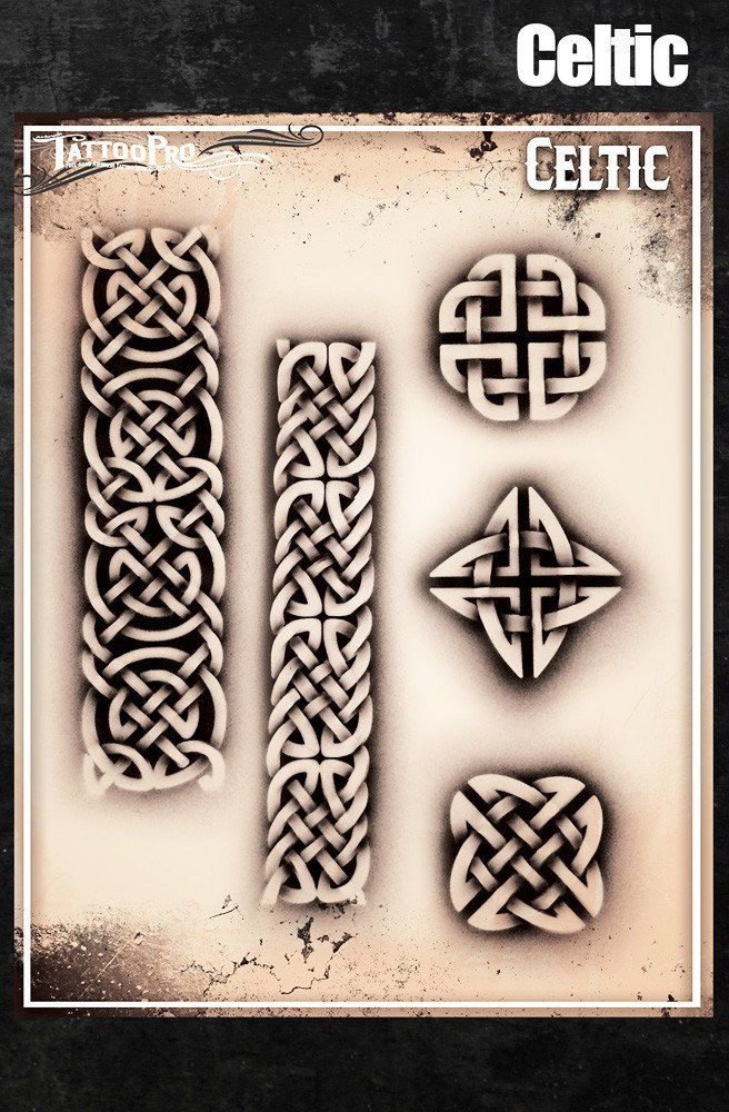 8ddc5de81 Celtic Airbrush Tattoo, Airbrush Art, Celtic Designs, Celtic Knot, Color  Tattoo,