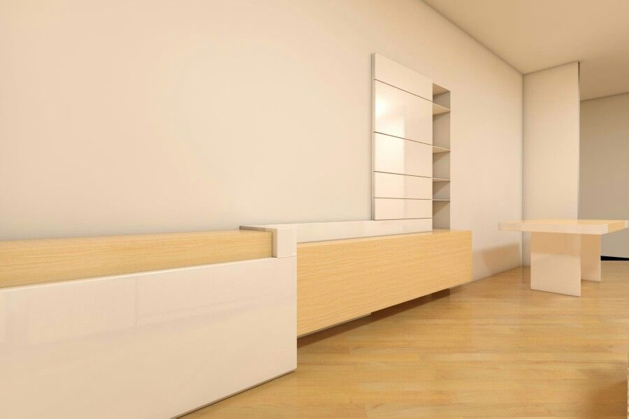 Arredo living. Design: stefanogradassiarchitetto