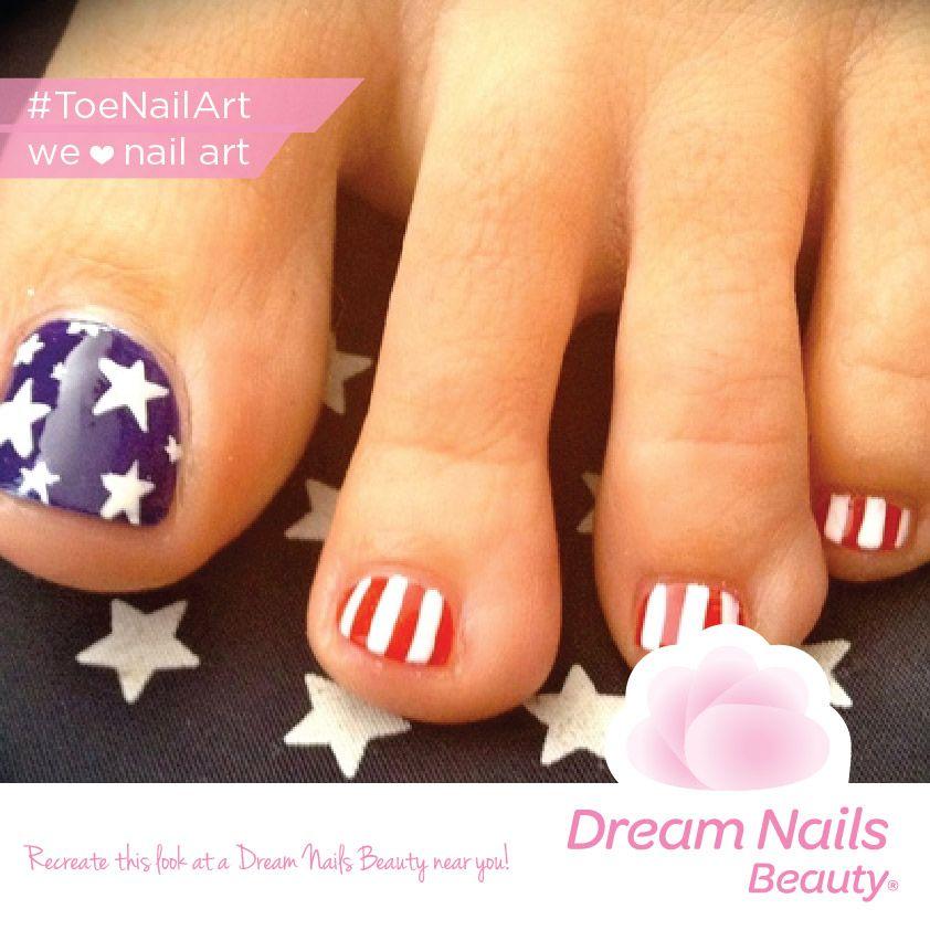 12 Cute Easy Toenail Designs For Summer 5 American Flag Toenail Design Toe Nail Designs Toe Nails Toe Nail Art