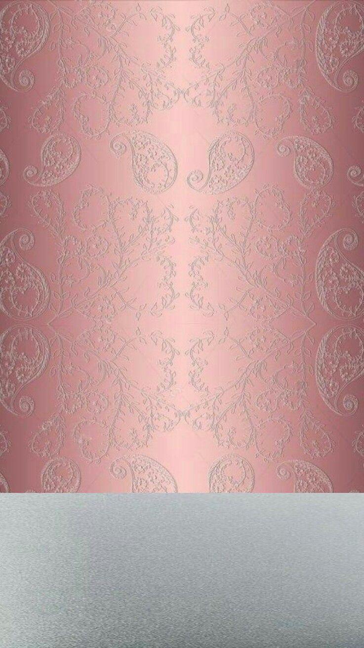 rose gold pink and silver iphone wallpapers pinterest hintergr nde hintergrundbilder. Black Bedroom Furniture Sets. Home Design Ideas