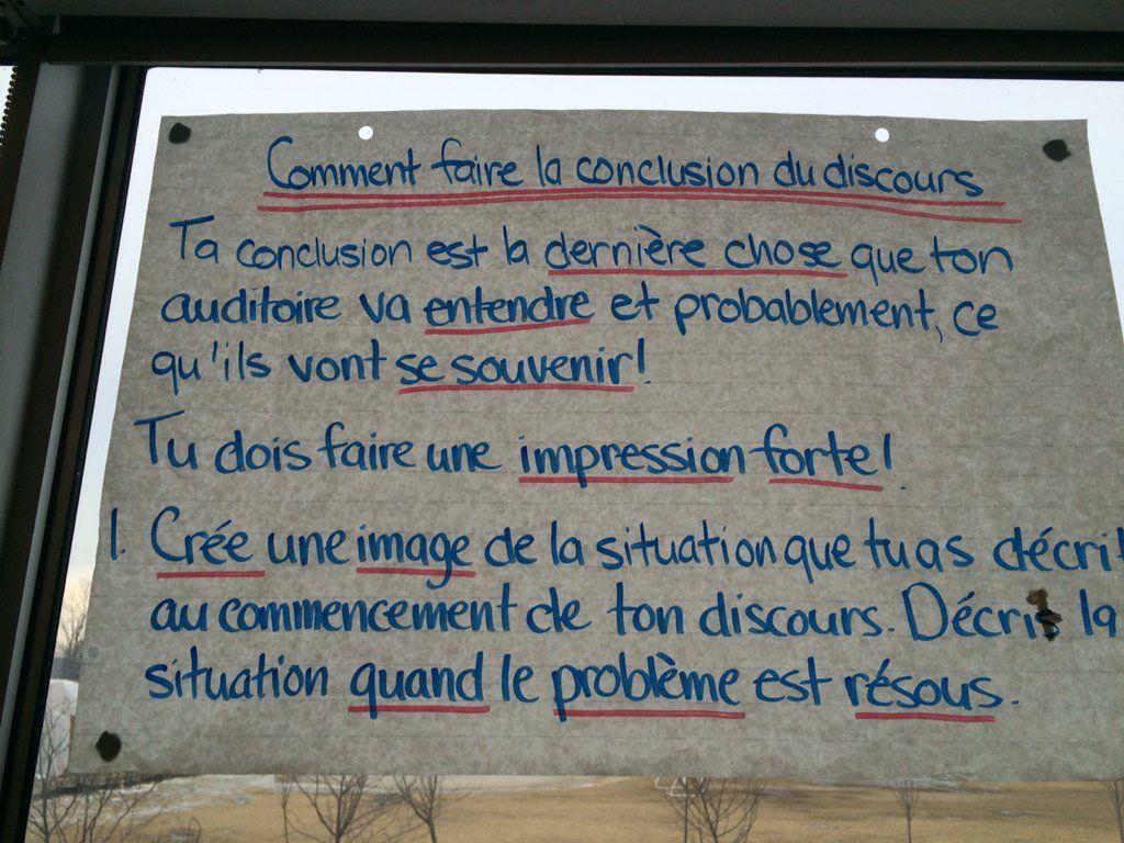 Great Anchor Charts On Giving A Speech En Franais By Mme Lipp
