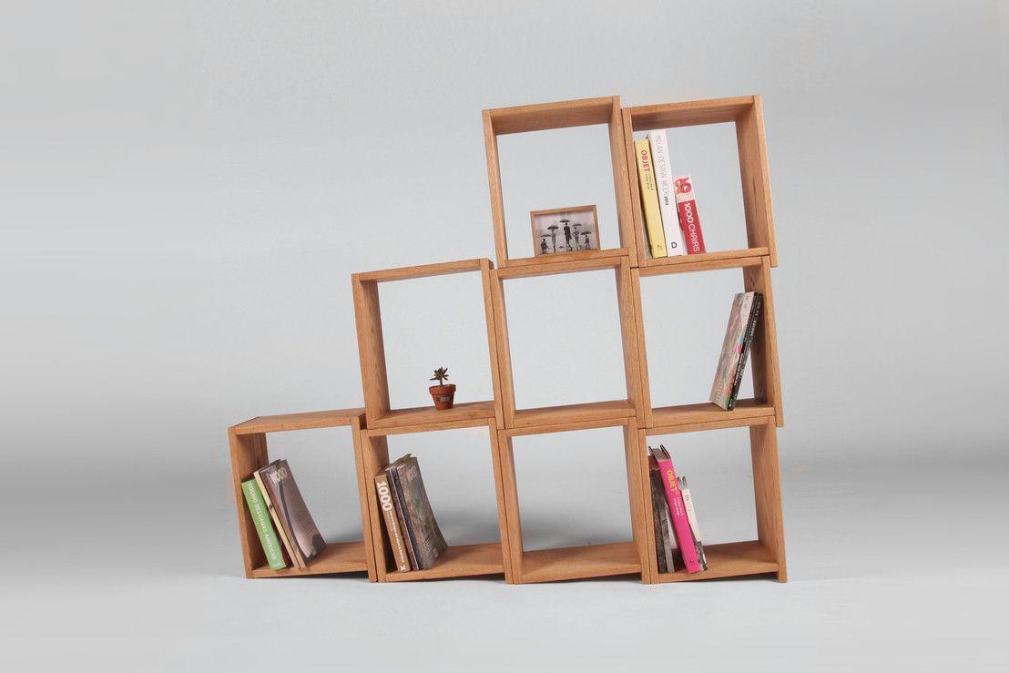 Regały w stylu Bauhaus 5 przykładów Furniture, Shelves