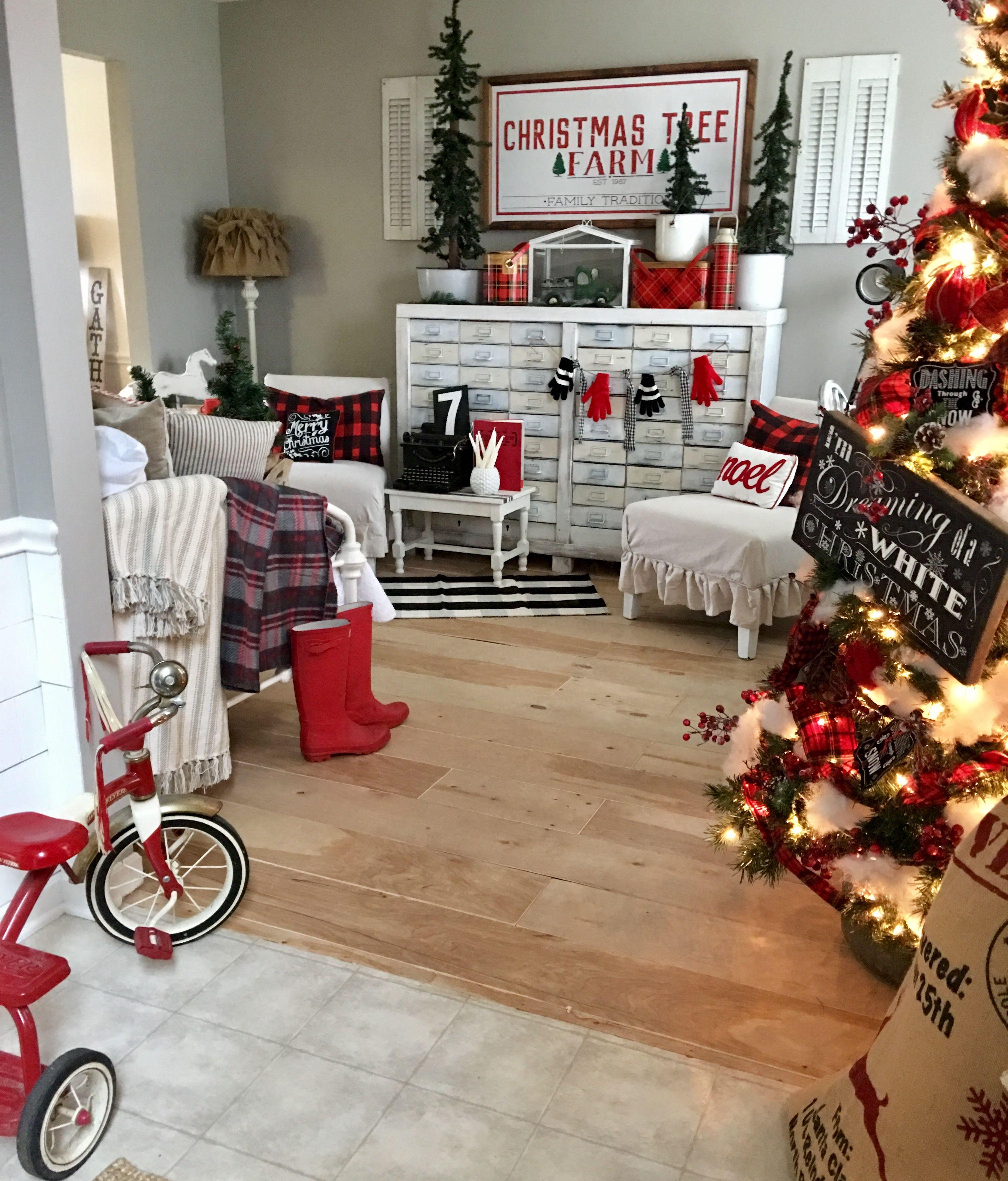 Ipage Affordable Christmas Gifts Buffalo Check Christmas Buffalo Check Christmas Decor