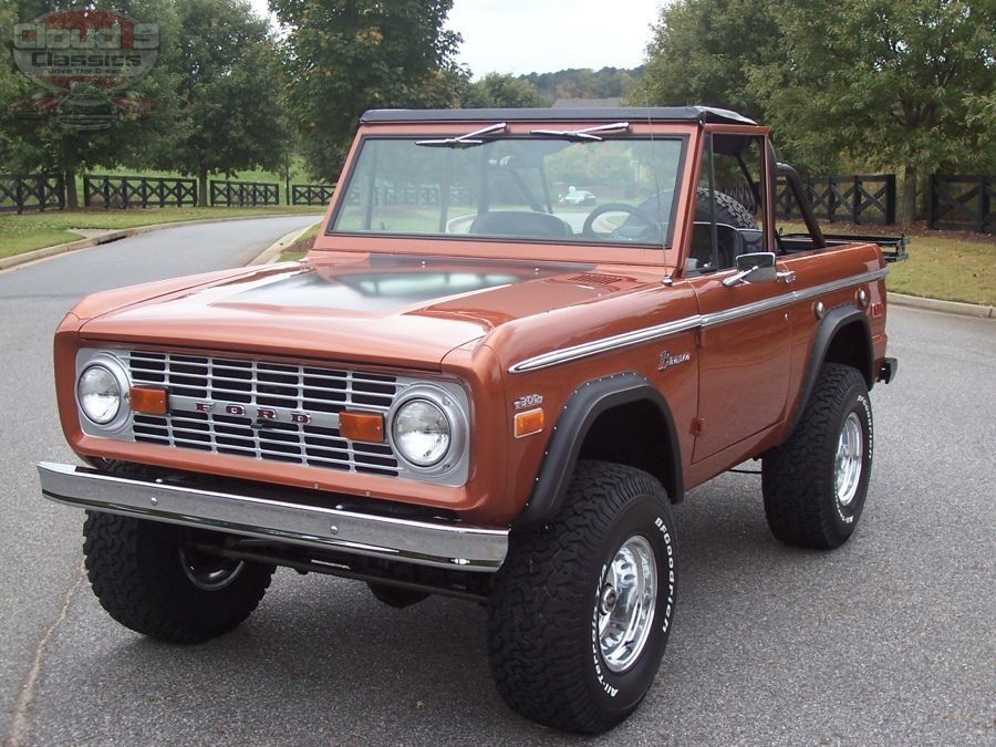 1970 Ford Bronco SOLD Cloud9 Classics Ford bronco