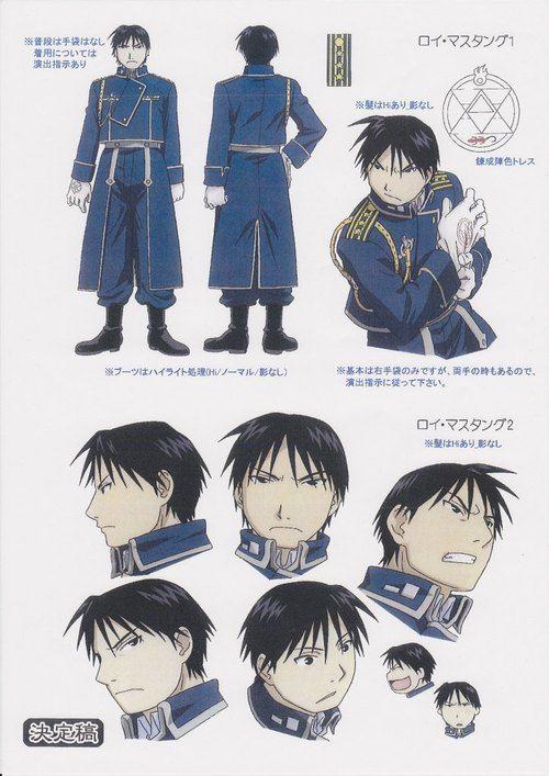 royailove:  Character design: Roy Mustang
