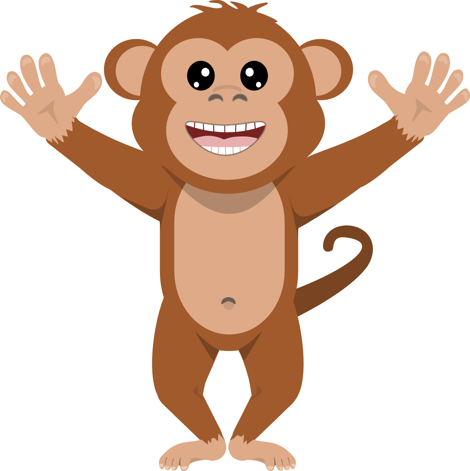 Mixed Clip Art Monkey Clip Art Art Monkey