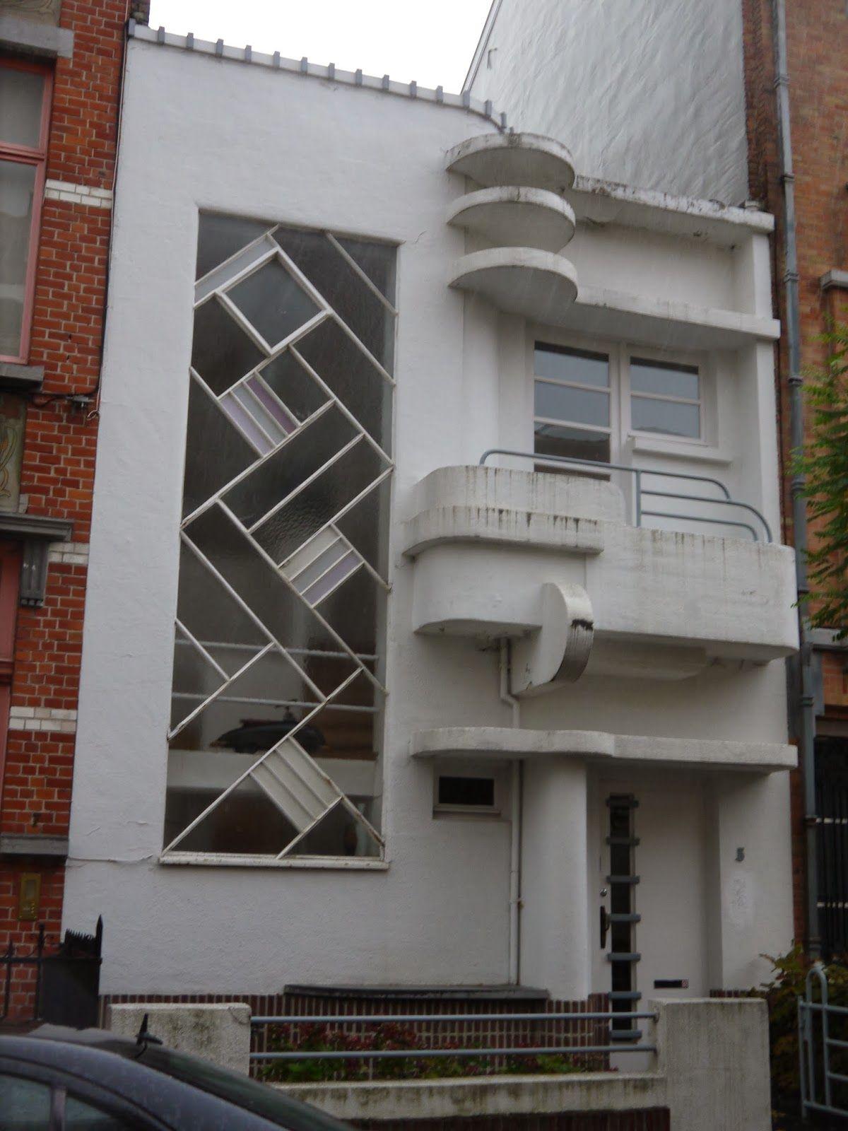 Rue De La Deco rue de la seconde reine, uccle. 1930, louis tenaerts.   art