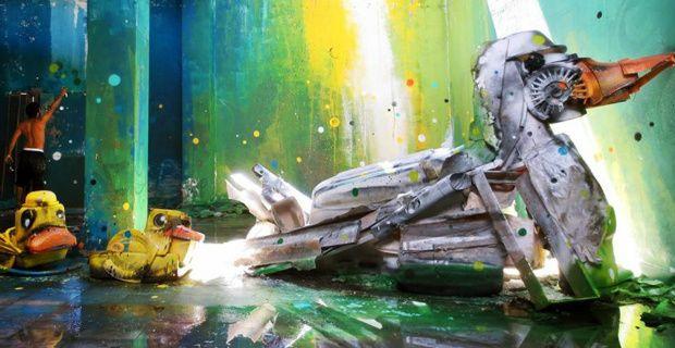 La street art del riciclo di Artur Bordalo https://plus.google.com/105527333833895302067/posts/Lf9GPeeRogV
