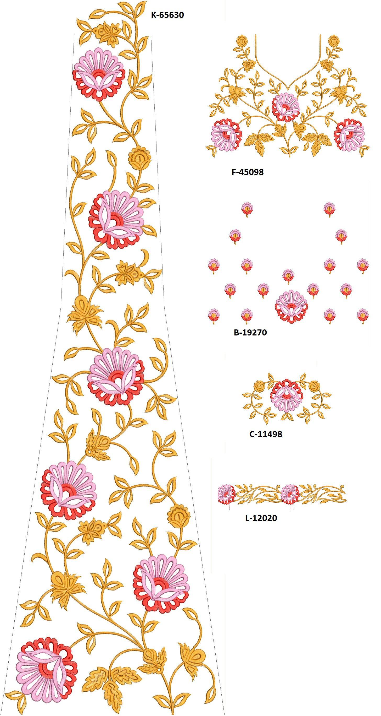 Latest Bridal Lehenga Design Lehenga Choli Designs Download Embroidery Design From Embcart Mobile Application Bridal Applique Fashion Sewing Lehnga Designs