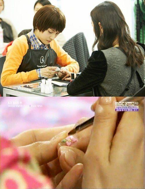 Kara\'s Park Gyu Ri Has Incredible Nail Art Skills | Nail shop, Drama ...