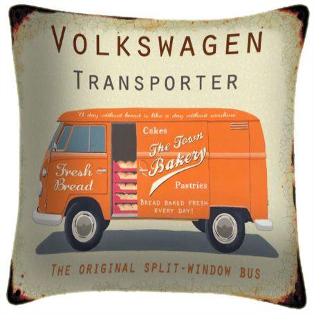 Volkswagen Transporter - Classic Motoring Cushion
