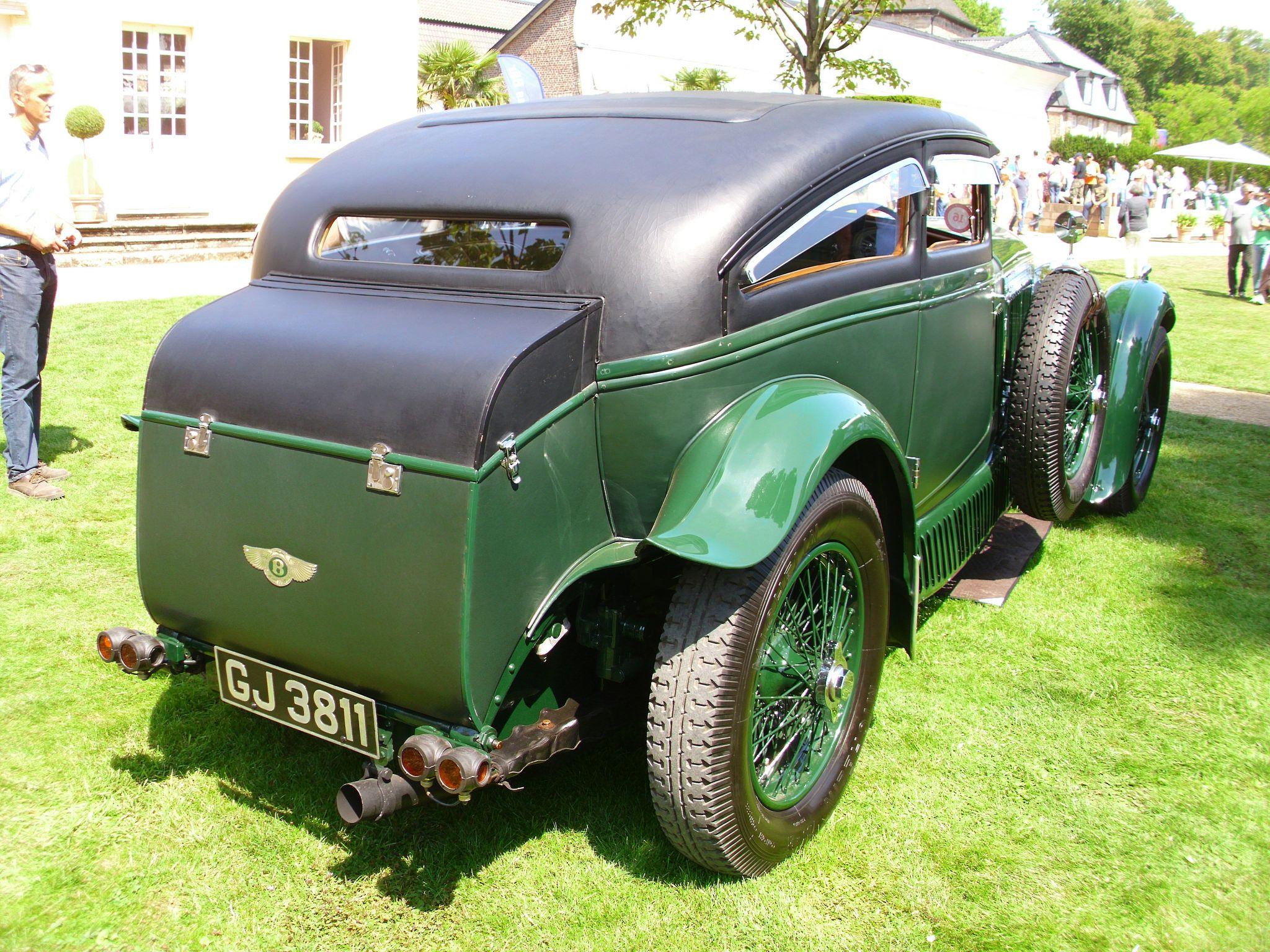 https://flic.kr/p/DasGv7   Bentley Speed Six Coupé 'Blue Train Special' (Gurney-Nutting) 1930   Classic Days Schloss Dyck 2015