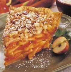Speedy Streusel Apple Pie - Pampered Chef