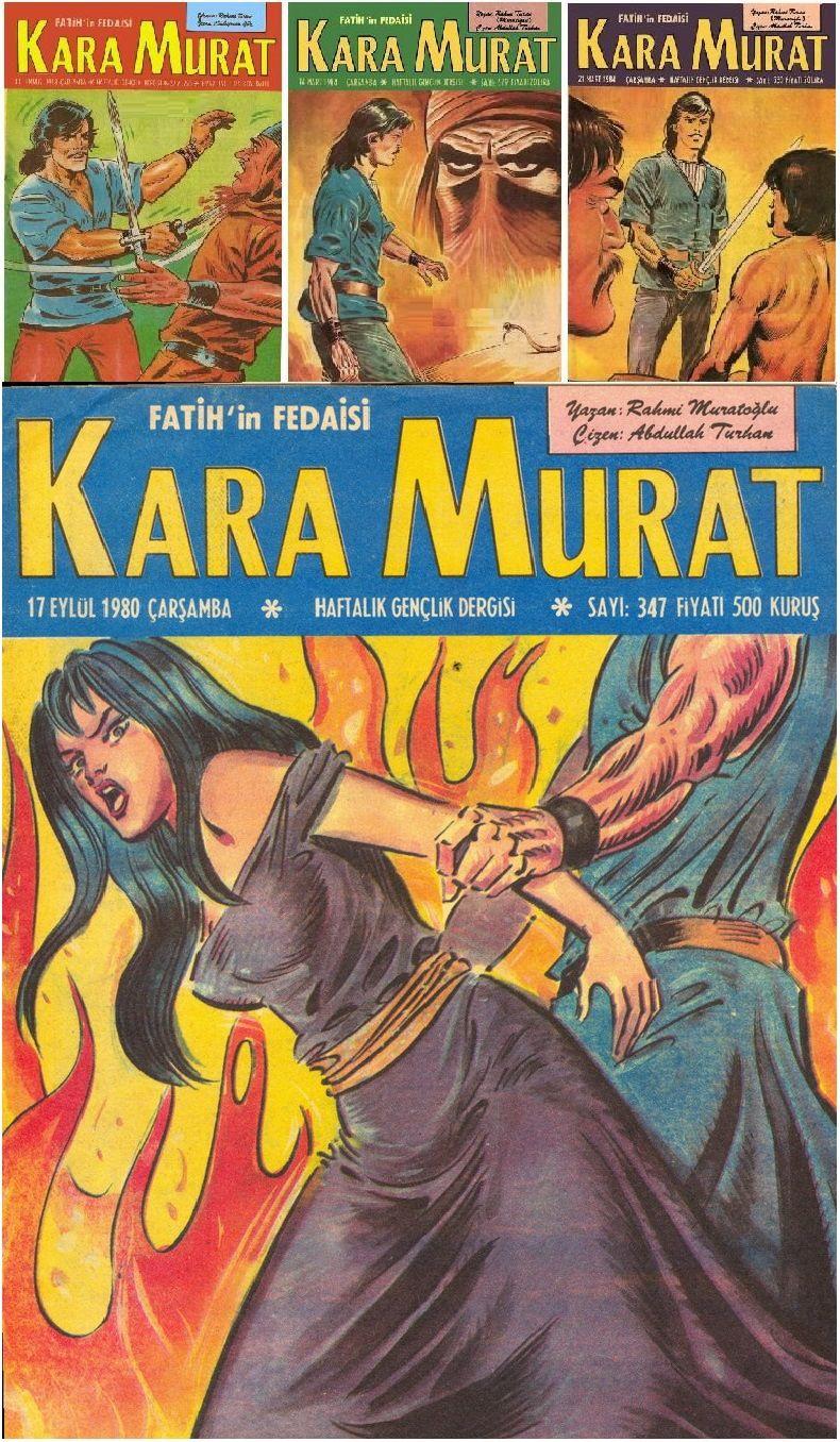 Kara Murat Turkish comics