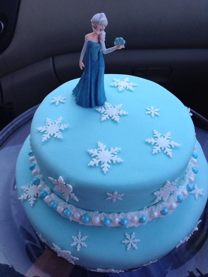 Pictures Of Frozen Birthday Cakes Elsa Frozen Birthday Cake